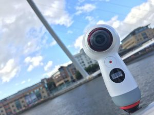 The Samsung Gear 360 camera